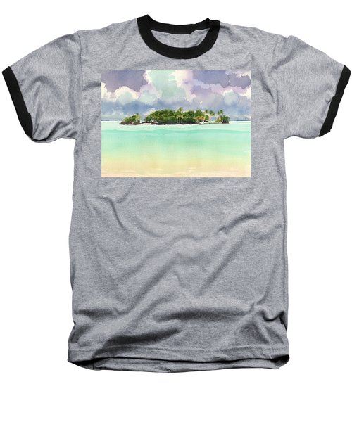 Motu Rapota, Aitutaki, Cook Islands, South Pacific Baseball T-Shirt