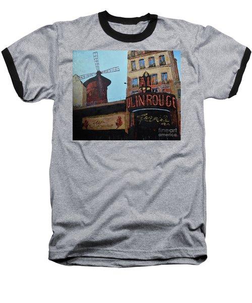 Moulin Rouge Baseball T-Shirt