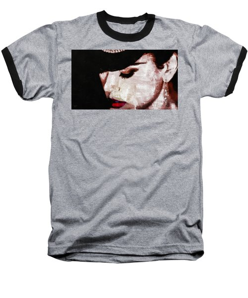 Moulin Rouge - Nicole Kidman Baseball T-Shirt by Sir Josef - Social Critic -  Maha Art