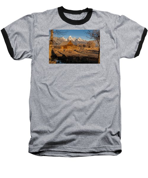 Baseball T-Shirt featuring the photograph Moulton Barn by Gary Lengyel