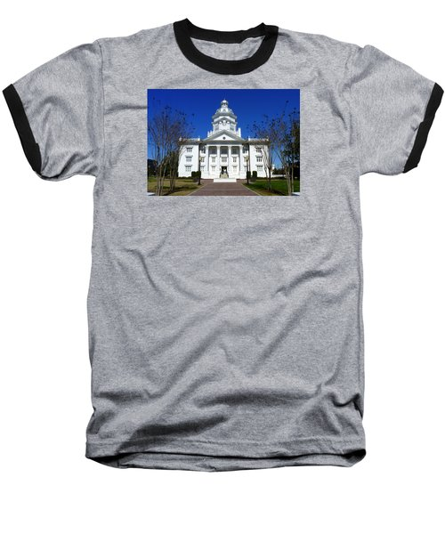 Moultrie Courthouse Baseball T-Shirt