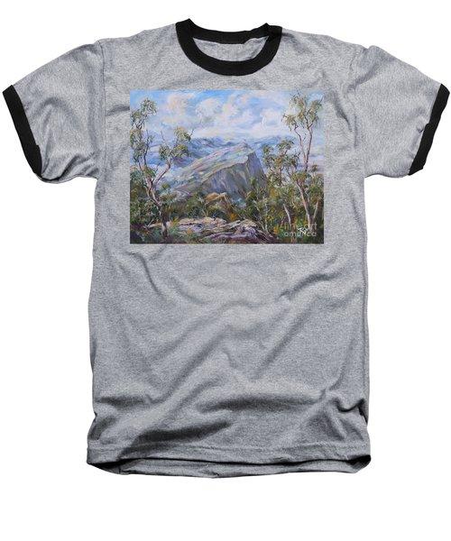 Mount Abrupt Grampians Victoria Baseball T-Shirt