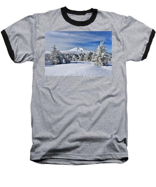 Mount Bachelor Winter Baseball T-Shirt