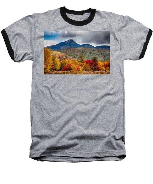 Peak Fall Colors On Mount Chocorua Baseball T-Shirt