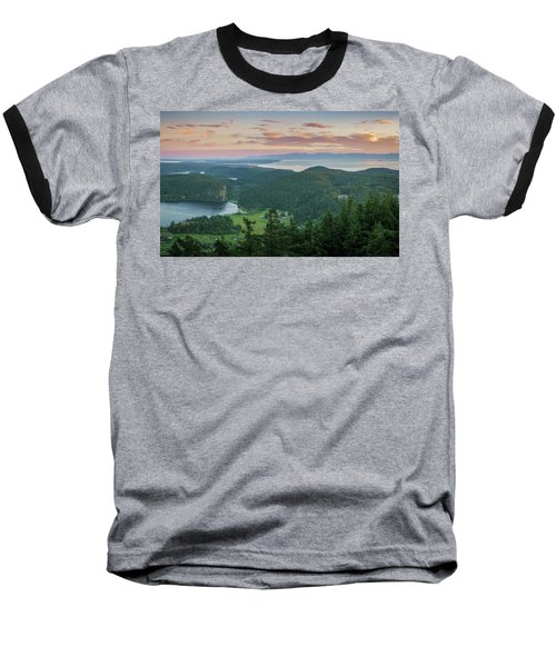 Baseball T-Shirt featuring the photograph Mount Erie Viewpoint by Ken Stanback