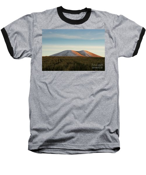 Mount Gutanasar In Front Of Wheat Field At Sunset, Armenia Baseball T-Shirt