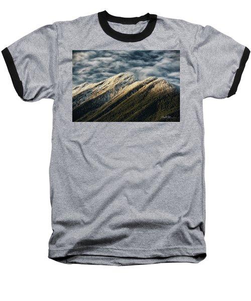 Mount Higgins Clouds Baseball T-Shirt