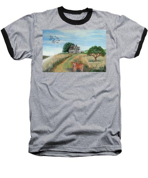 Mount Hope Plantation Baseball T-Shirt by Lyric Lucas