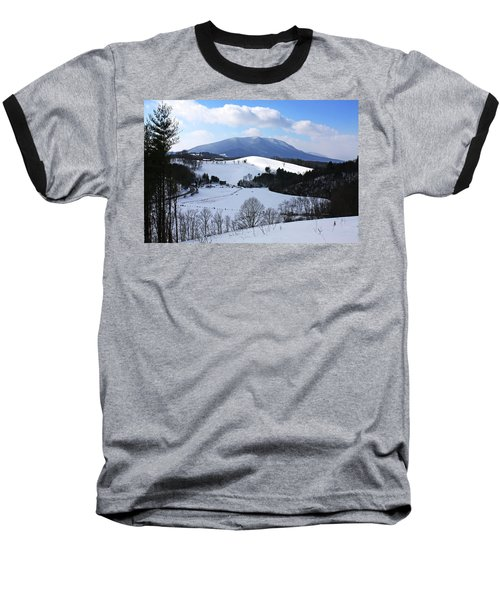 Mount Jefferson Winter Baseball T-Shirt by Dale R Carlson
