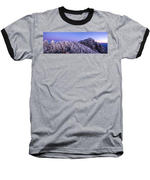 Mount Liberty Blue Hour Panorama Baseball T-Shirt