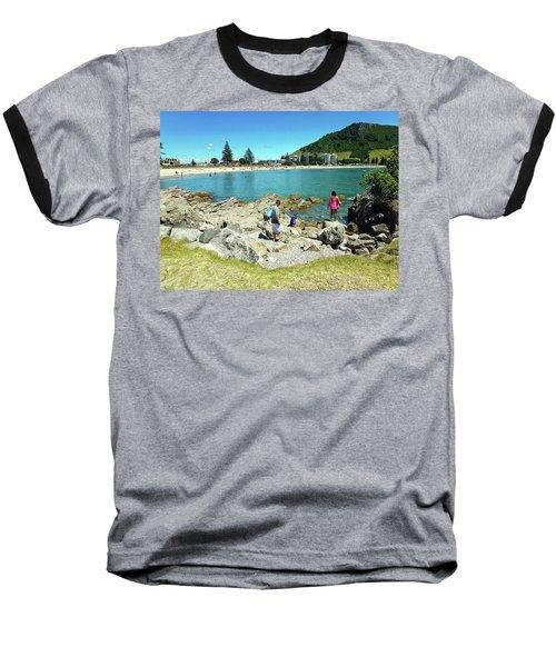 Mount Maunganui Beach 12 - Tauranga New Zealand Baseball T-Shirt