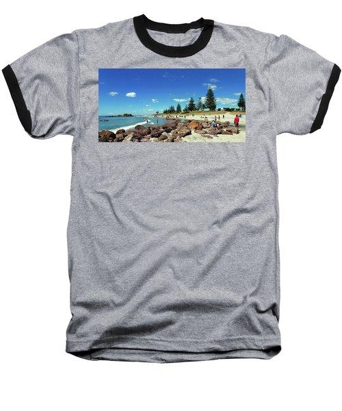 Mount Maunganui Beach 6 - Tauranga New Zealand Baseball T-Shirt