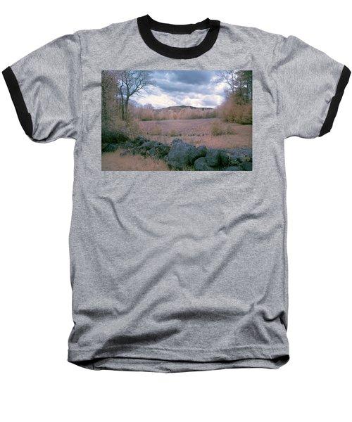 Mount Monadnock In Infrared Baseball T-Shirt
