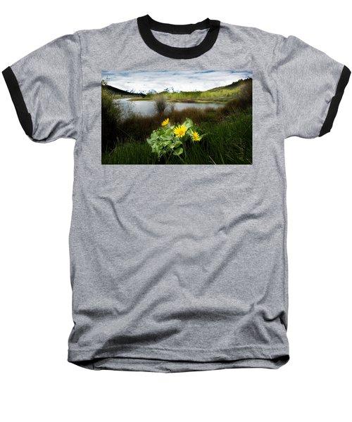 Mount Moran Spring Baseball T-Shirt
