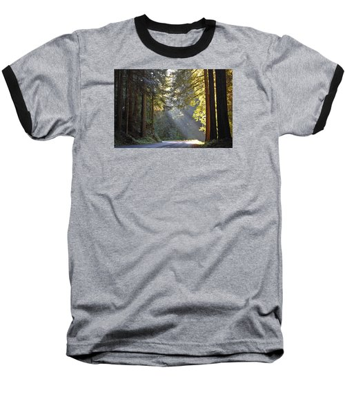 Mount Rainier At Nisqually Baseball T-Shirt