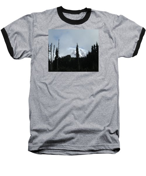Baseball T-Shirt featuring the photograph Mount Rainier by Tony Mathews