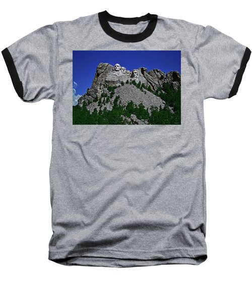 Baseball T-Shirt featuring the photograph Mount Rushmore 001 by George Bostian