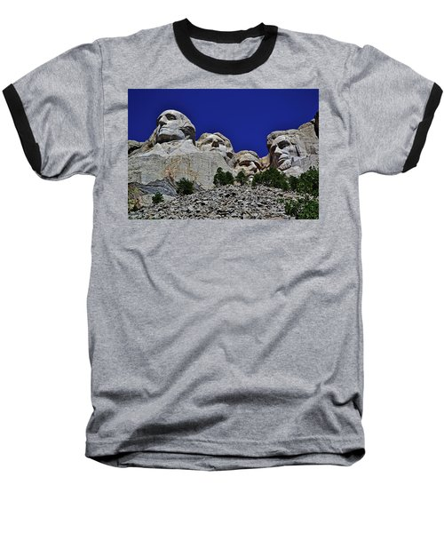 Baseball T-Shirt featuring the photograph Mount Rushmore 007 by George Bostian