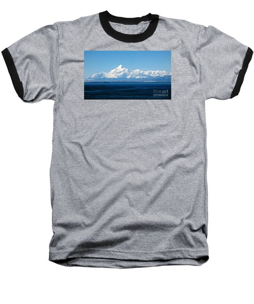 Mount Saint Elias. Yakutat Bay Seascapes Baseball T-Shirt