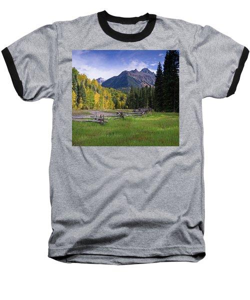Mount Sneffels In Autumnn Baseball T-Shirt