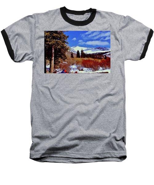 Mount St Vrain  Baseball T-Shirt