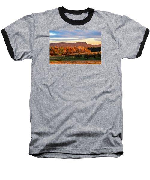 Mount Tom Foliage View Baseball T-Shirt