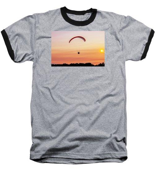 Mount Tom Parachute Baseball T-Shirt