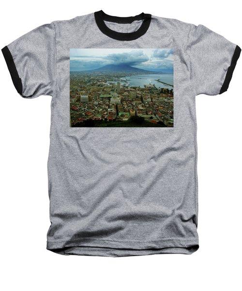 Mount Vesuvius Naples It Baseball T-Shirt