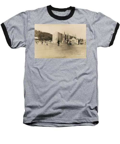 Baseball T-Shirt featuring the photograph Mount Washington Church  by Cole Thompson
