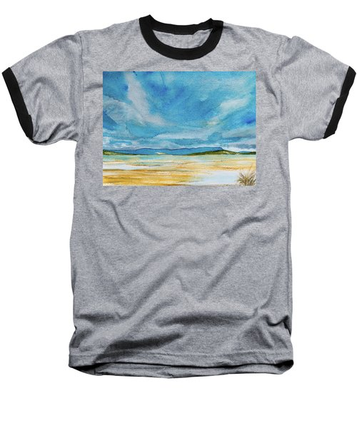 View Of Mount Wellington From South Bruny Island Baseball T-Shirt