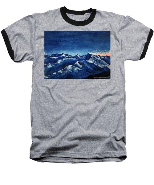 Mountain-4 Baseball T-Shirt