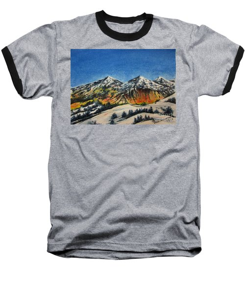 Mountain-5 Baseball T-Shirt