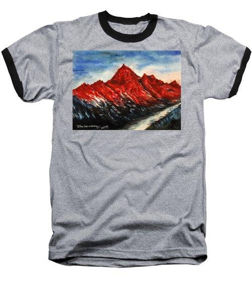 Mountain-7 Baseball T-Shirt