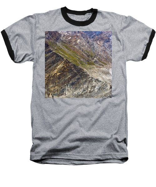 Mountain Abstract 1 Baseball T-Shirt