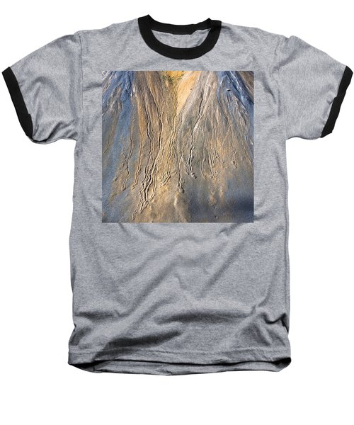 Mountain Abstract 3 Baseball T-Shirt