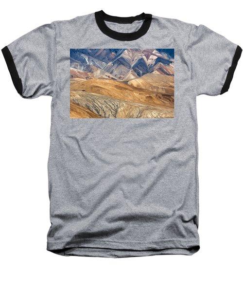 Mountain Abstract 4 Baseball T-Shirt