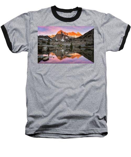 Mountain Air  Baseball T-Shirt by Nicki Frates