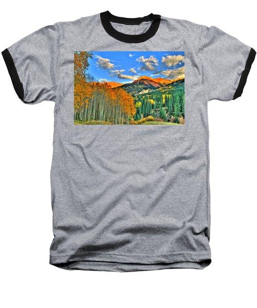 Mountain Beauty Of Fall Baseball T-Shirt