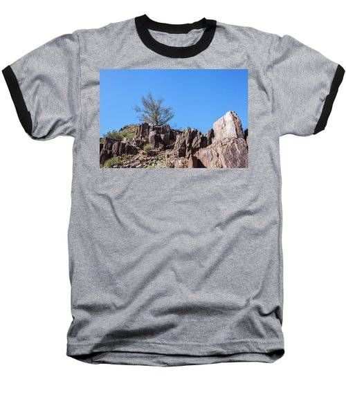 Baseball T-Shirt featuring the photograph Mountain Bush by Ed Cilley