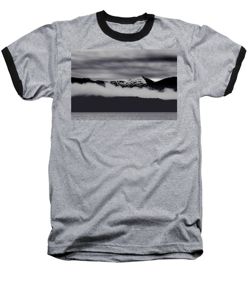 Mountain Contrast Baseball T-Shirt