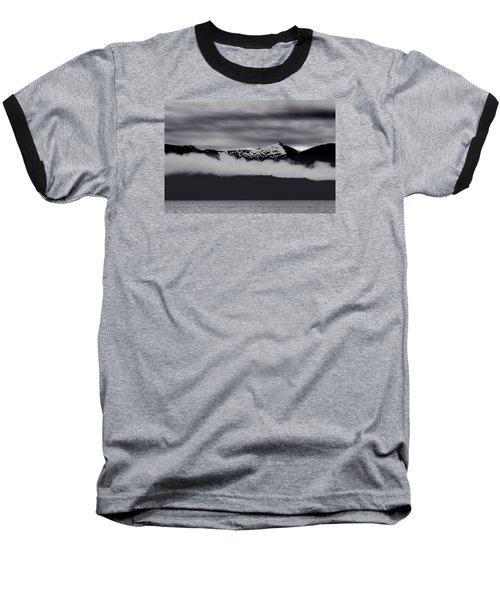 Mountain Contrast Baseball T-Shirt