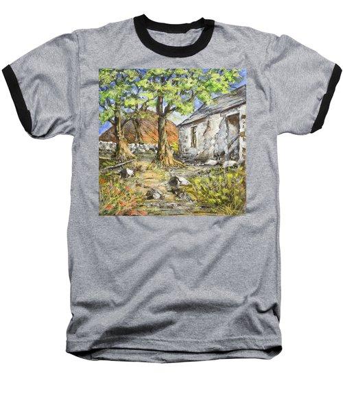 Mountain Cottage Baseball T-Shirt