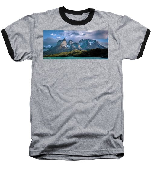 Baseball T-Shirt featuring the photograph Mountain Dream by Andrew Matwijec