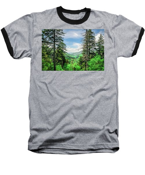 Mountain Forest Baseball T-Shirt