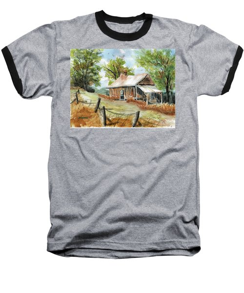 Mountain Get-away Baseball T-Shirt