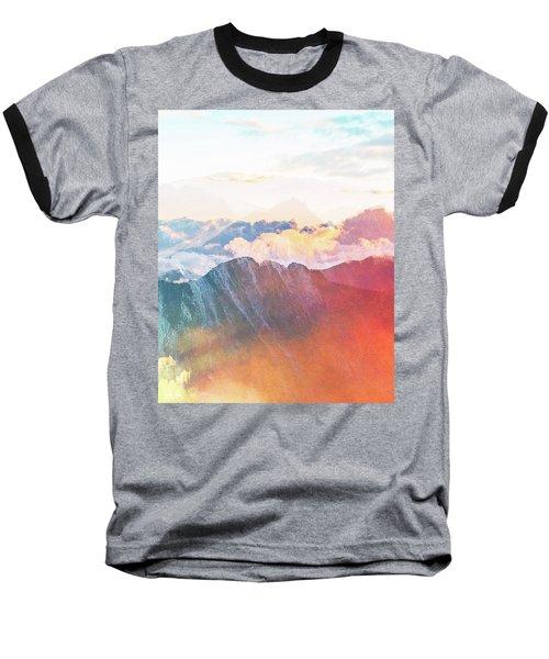 Mountain Glory Baseball T-Shirt by Uma Gokhale
