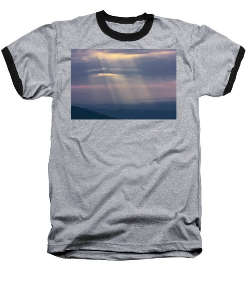 Mountain God Rays Baseball T-Shirt