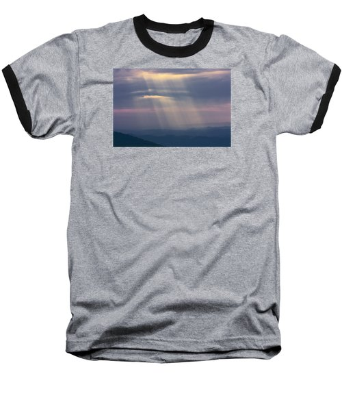 Mountain God Rays Baseball T-Shirt