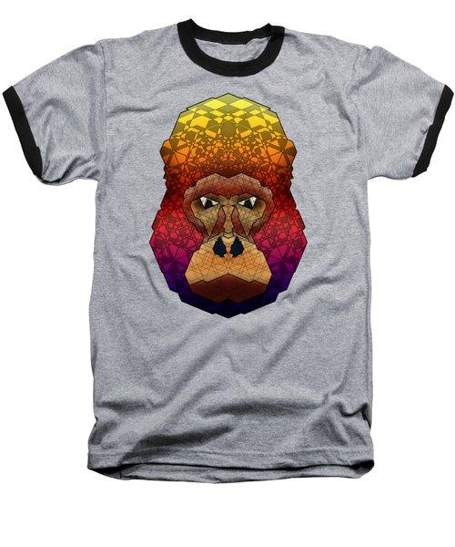 Mountain Gorilla Baseball T-Shirt