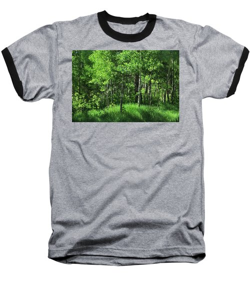 Mountain Greenery Baseball T-Shirt